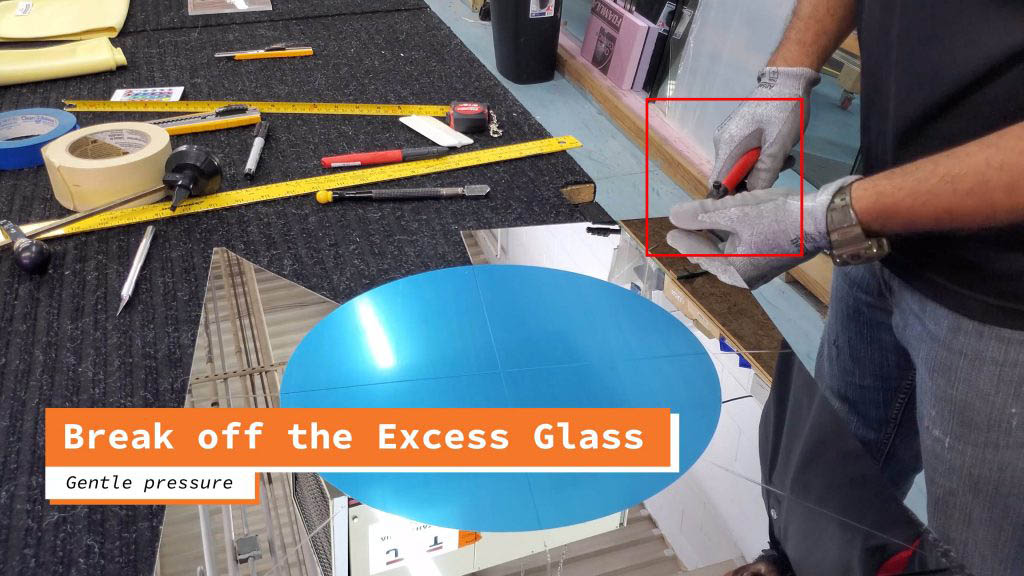 Remove excess glass