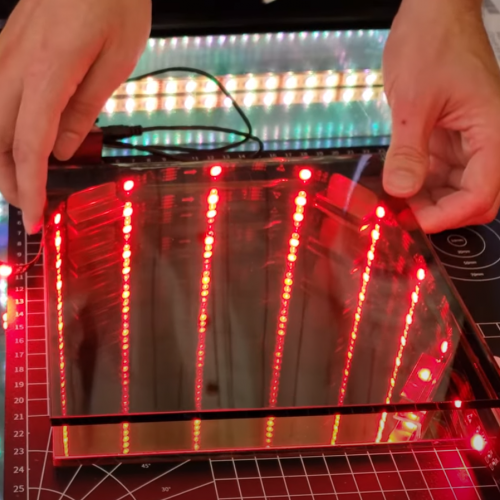 Finished DIY Infinity Mirror