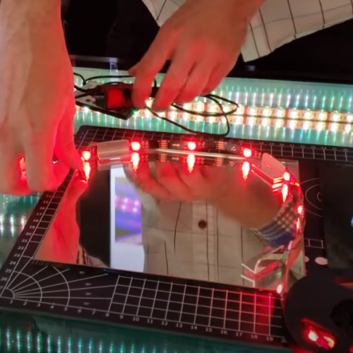 Wrapping LED Lights For Infinity Mirror